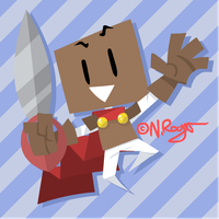 Cut-Out Boxman by The-Knick