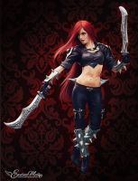 League Of Legends | Katarina by EwelinaMalke