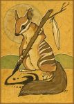 Numbat by Key-Feathers