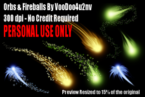 Orbs And Fireballs by VooDoo4u2nv