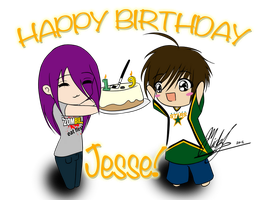 Happy Birthday Jesse! by Micky-K
