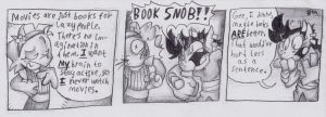 Book Snob by zombiecatfire13