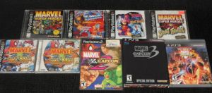 My MARVEL vs. CAPCOM game Collection by IronCobraAM