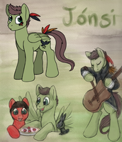 Jonsi Pony by aisu-isme