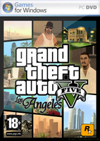 GTA V: Los Angeles PC Cover by InterGlobalFilms