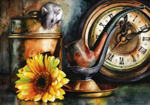 As Time Goes By by MightyFineArt
