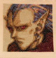 Magus Portrait by GamingBitCrossStitch