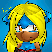 Lusia icon 500x500 //B'day gift// by TechnoStarCat