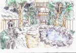 japanese garden by Asasel-chan