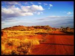 The Red Core of Australia by drevilknevel