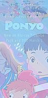 ponyo make a splash banner by hetl
