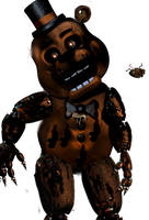 Nightmare Toy Freddy by Trapspring