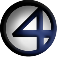 Fantastic 4 Dock  Icon by Meganubis