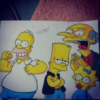 Los Simpson by VRCSK02