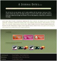 Journal Layout by ivelt