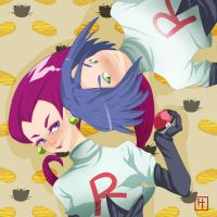 R is for Rocket by CoralineCaroline