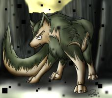 Wolf Link by October-Shadows