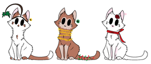 Christmas Kitty | Adoptables | OPEN by TurkFish