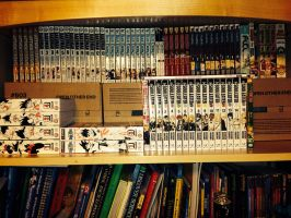 Manga and Comic Collection by Sora9317