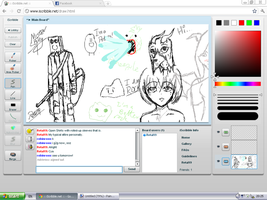 iScribble with robinroxx-x3 1 by Retal19