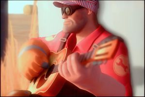 engi play in guitar by Deniszizen