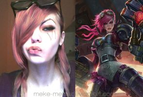 League of Legends make up 3 by meke-meke