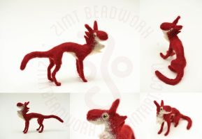 Needlefelted Sina by ZimtBeadwork