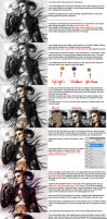 How to color a black and white picture. by AHague