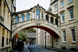 The Bridge of Sighs, Oxford by dansclayton