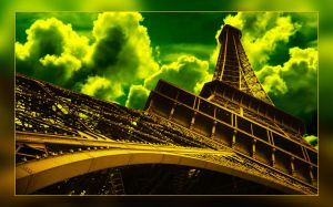 Eiffel Tower by vanart