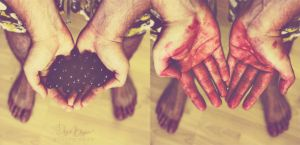 Blood on my hands by Bandur88