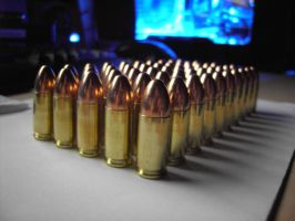 9mm ammo by AndeeVanDahl