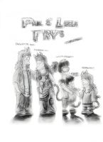 The Fry Children by Laborde91