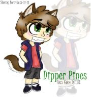 Dipper Pines Has Gone WILD! by SilverShadowJynx