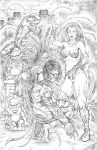 The Darkness and Witchblade by Robert A. Marzullo by ramstudios1