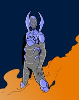 B is for Blue Beetle by Doomami