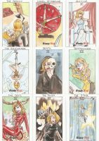 Honey West Tarot Cards 2 by AmberStoneArt