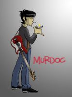 Gorillaz: Murdoc - art trade by BloodyWilliam