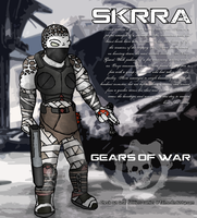 Gears Of War Locust Hero - Skrra by ChemicalTaint