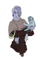 Oh, The Babby Alien by Sunkaro