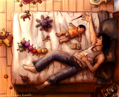 Afternoon nap by anacaarol