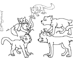 lineart request 4 animaluver21 by ProtoSykeLegacy