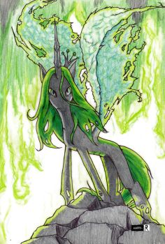 Queen Chrysalis by Happy-R