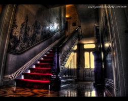 DeMenil Mansion - Entry Foyer by ellysdoghouse