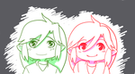 Green and Red by Ask-VioLink