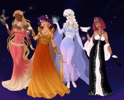 Queens of Fortune by VarietyChick