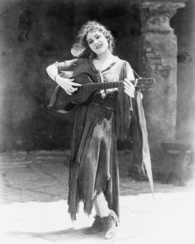 Mary Pickford as Rosita, 1920s by Step-in-Time-Stock