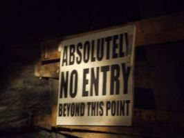 Bellevue mine : 500ft in and as far as i go by zody-wolf