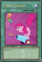 Party Cannon Yu-Gi-Oh Card by PokeMarioFan14