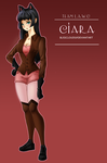 Commission - Ciara (Team LAWC) by BlissClouds
